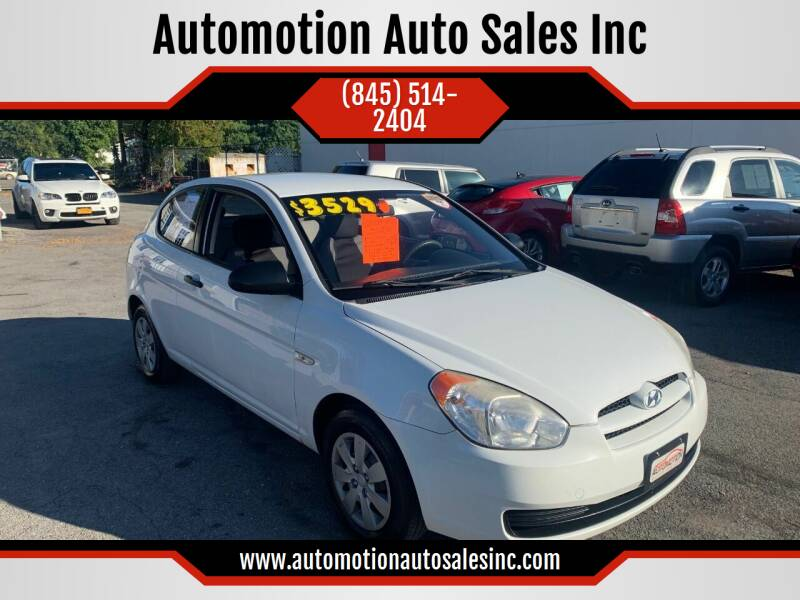 2009 Hyundai Accent for sale at Automotion Auto Sales Inc in Kingston NY