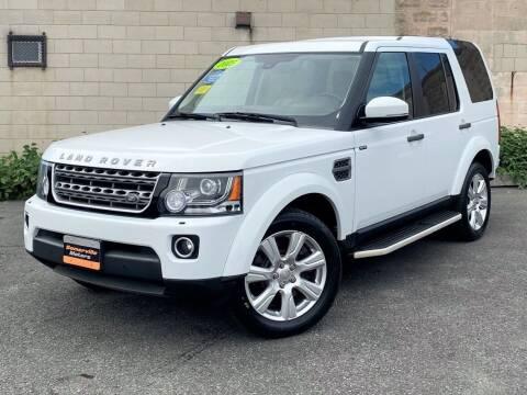 2015 Land Rover LR4 for sale at Somerville Motors in Somerville MA
