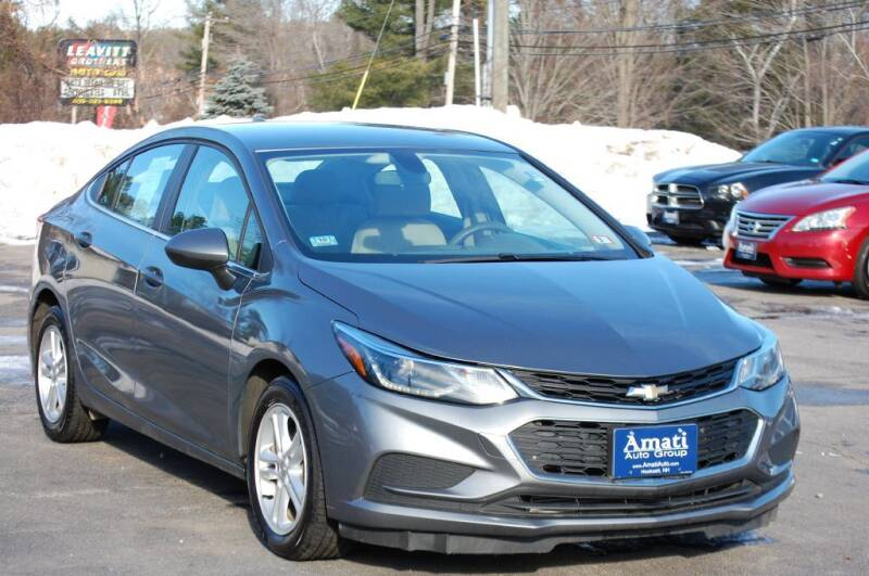 2018 Chevrolet Cruze for sale at Amati Auto Group in Hooksett NH