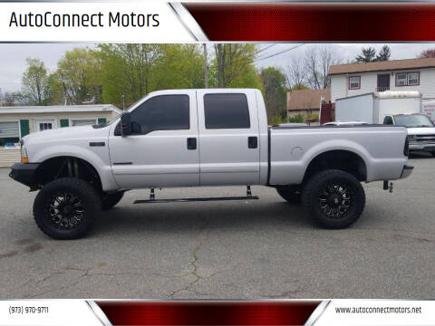 2002 Ford F-250 Super Duty for sale at AutoConnect Motors in Kenvil NJ