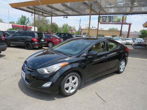 2013 Hyundai Elantra for sale at Nile Auto Sales in Denver CO