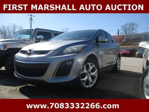 2010 Mazda CX-7 for sale at First Marshall Auto Auction in Harvey IL