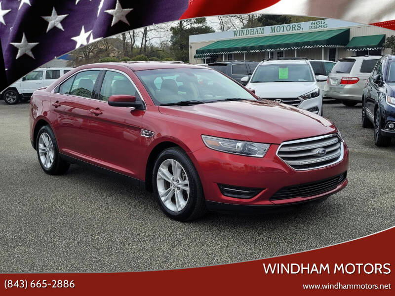 2017 Ford Taurus for sale at Windham Motors in Florence SC
