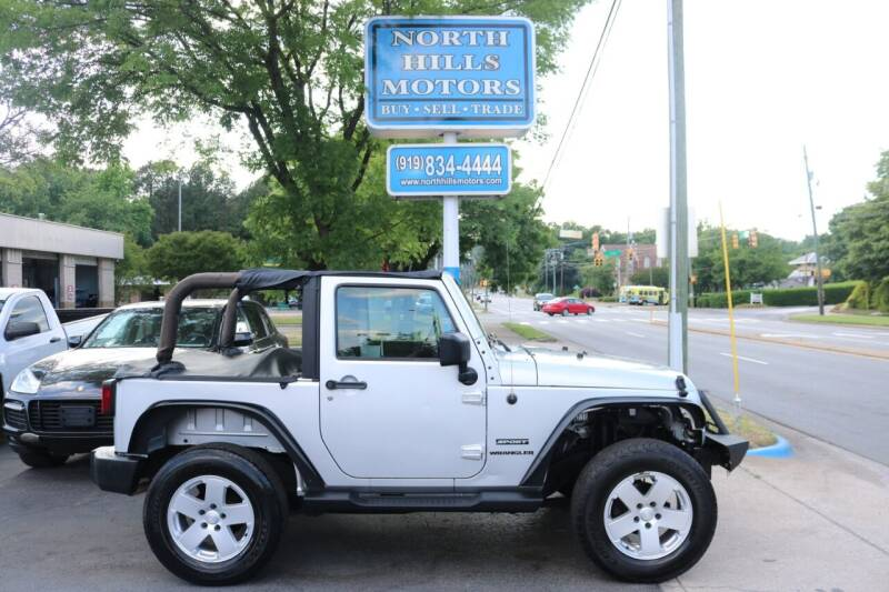 2010 Jeep Wrangler for sale at North Hills Motors in Raleigh NC