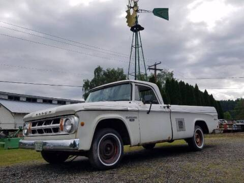 1968 Dodge D100 Pickup