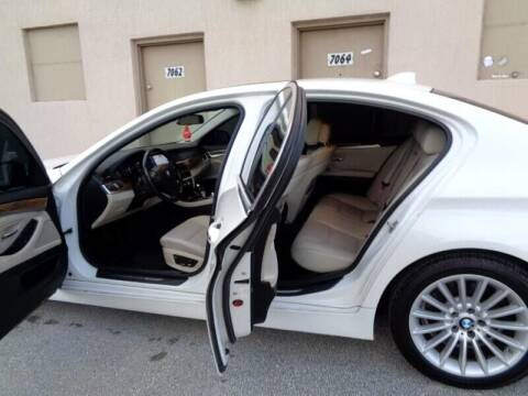 2015 BMW 7 Series for sale at Selective Motor Cars in Miami FL