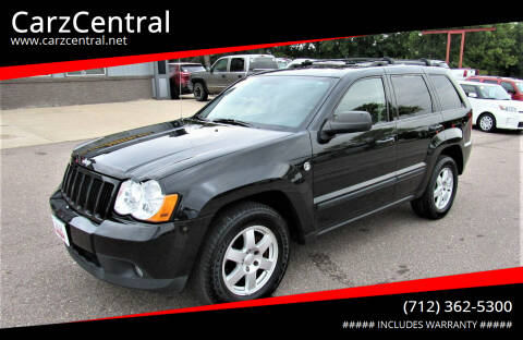 2009 Jeep Grand Cherokee for sale at CarzCentral in Estherville IA