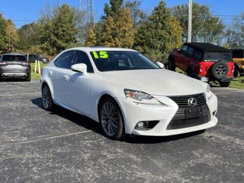 2015 Lexus IS 250 for sale at Szott Ford in Holly MI