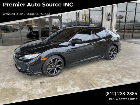 2018 Honda Civic for sale at Premier Auto Source INC in Terre Haute IN