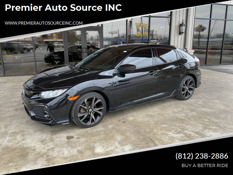 2018 Honda Civic for sale at Premier Auto Source INC in Terre Haute IN