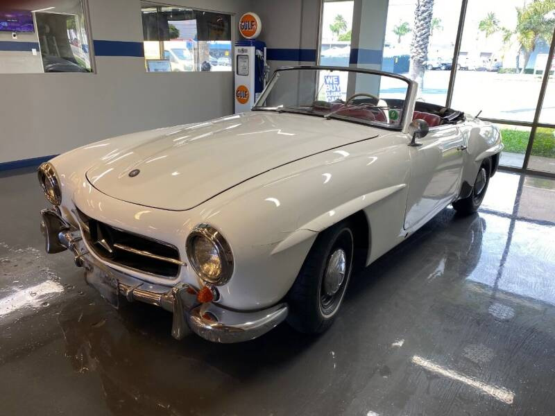 1957 Mercedes-Benz 190-Class for sale at Gallery Junction in Orange CA