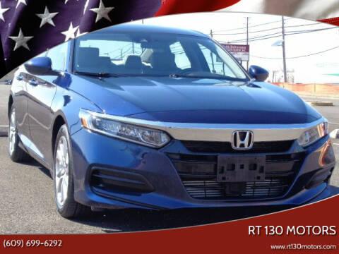 2019 Honda Accord for sale at RT 130 Motors in Burlington NJ