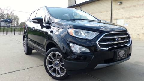 2018 Ford EcoSport for sale at Prudential Auto Leasing in Hudson OH