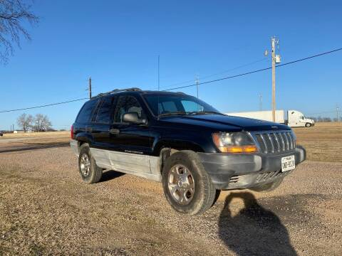 2000 Jeep Grand Cherokee for sale at CAVENDER MOTORS in Van Alstyne TX