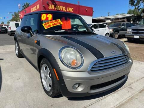2009 MINI Cooper for sale at 3K Auto in Escondido CA
