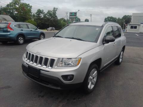 2012 Jeep Compass for sale at Irving Auto Sales in Whitman MA