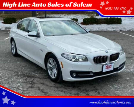 2015 BMW 5 Series for sale at High Line Auto Sales of Salem in Salem NH