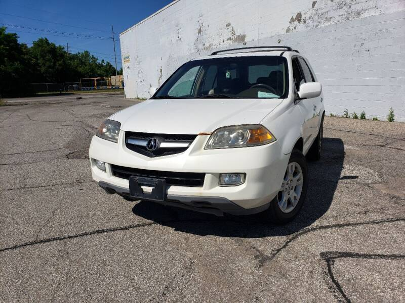 2005 Acura MDX for sale at CALIBER AUTO SALES LLC in Cleveland OH