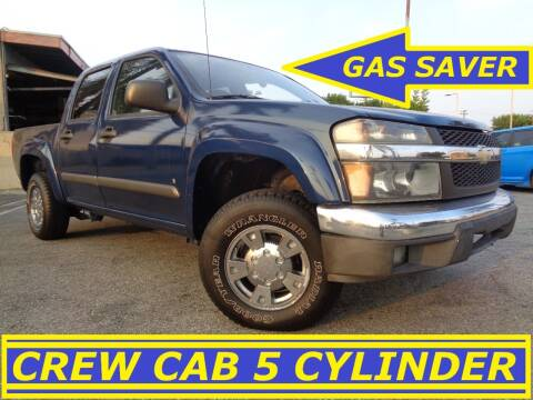 2007 Chevrolet Colorado for sale at ALL STAR TRUCKS INC in Los Angeles CA