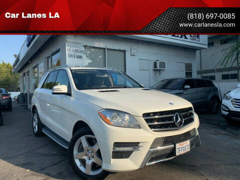 2013 Mercedes-Benz M-Class for sale at Car Lanes LA in Valley Village CA