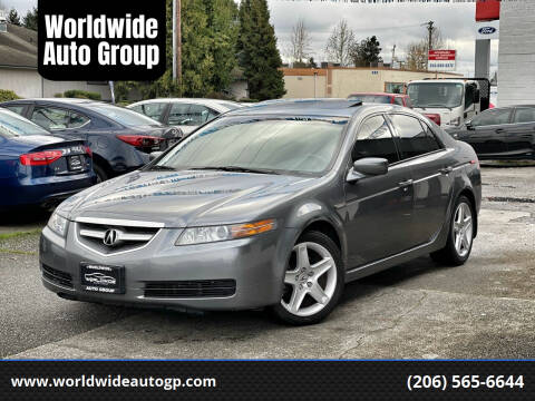 2006 Acura TL for sale at Worldwide Auto Group in Auburn WA