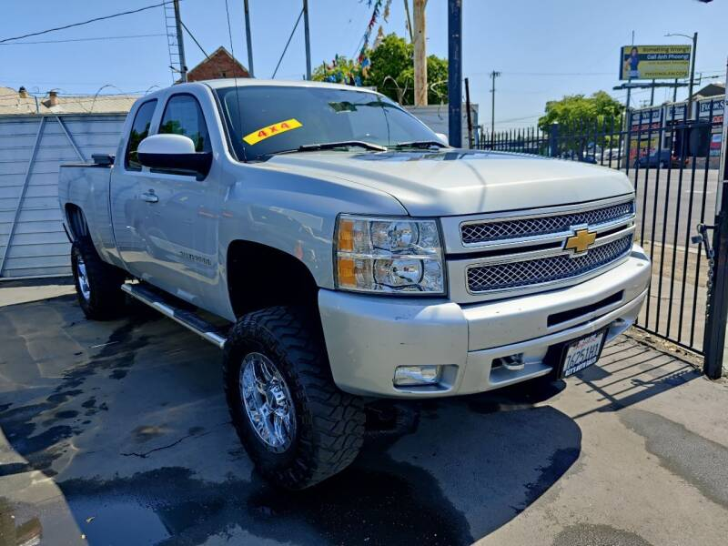 2013 Chevrolet Silverado 1500 for sale at Rey's Auto Sales in Stockton CA