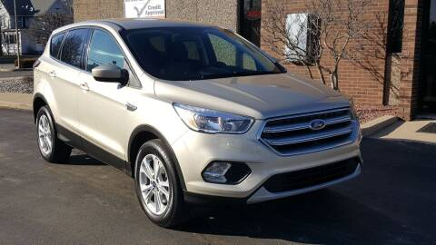 2017 Ford Escape for sale at Mighty Motors in Adrian MI