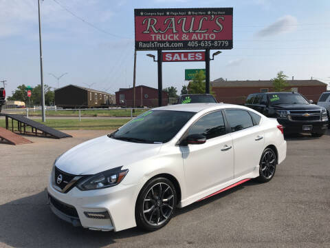 2017 Nissan Sentra for sale at RAUL'S TRUCK & AUTO SALES, INC in Oklahoma City OK