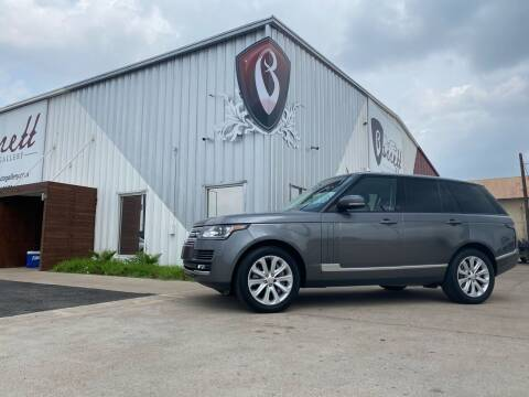 2014 Land Rover Range Rover for sale at Barrett Auto Gallery in San Juan TX