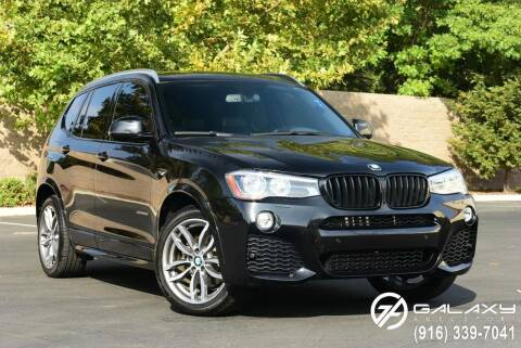 2015 BMW X3 for sale at Galaxy Autosport in Sacramento CA
