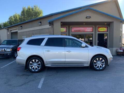 2012 Buick Enclave for sale at Advantage Auto Sales in Garden City ID