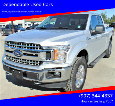 2019 Ford F-150 for sale at Dependable Used Cars in Anchorage AK