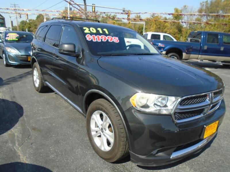 2011 Dodge Durango for sale at River City Auto Sales in Cottage Hills IL