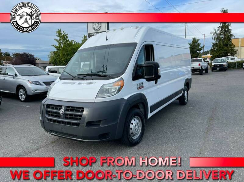 2015 RAM ProMaster Cargo for sale at Auto 206, Inc. in Kent WA