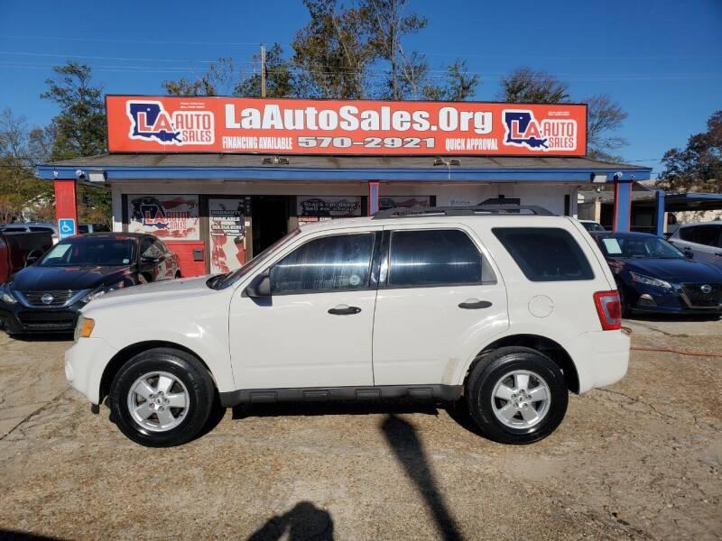 2009 Ford Escape for sale at LA Auto Sales in Monroe LA