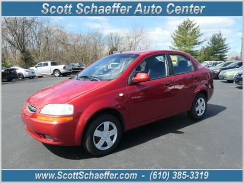 2006 Chevrolet Aveo for sale at Scott Schaeffer Auto Center in Birdsboro PA