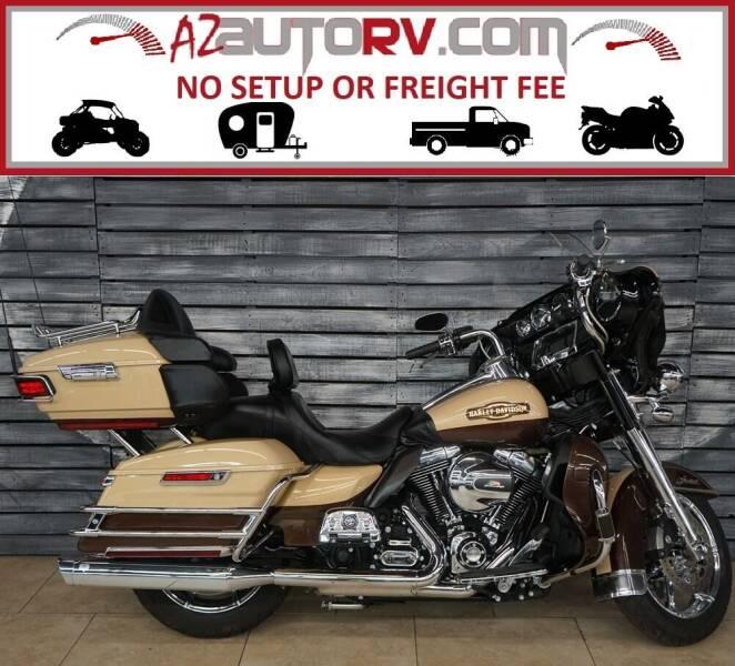 2014 Harley-Davidson Electra Glide for sale at AZautorv.com in Mesa AZ