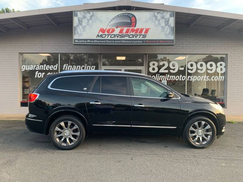 2016 Buick Enclave for sale at NO LIMIT MOTORSPORTS in Belmont NC