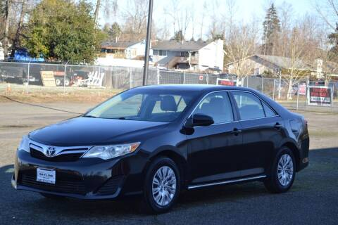 2013 Toyota Camry for sale at Skyline Motors Auto Sales in Tacoma WA