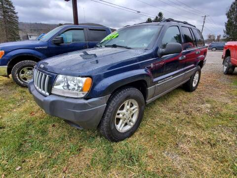 2004 Jeep Grand Cherokee for sale at Alfred Auto Center in Almond NY
