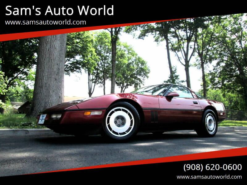 1987 Chevrolet Corvette for sale at Sam's Auto World in Roselle NJ