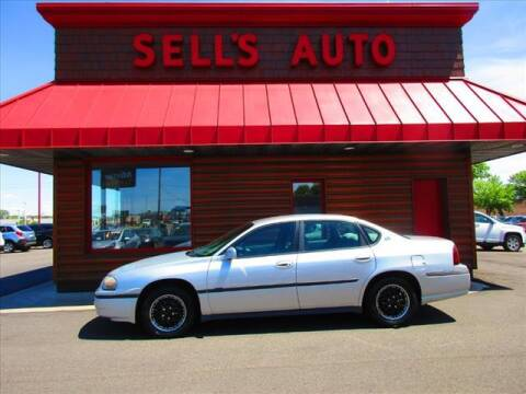 2003 Chevrolet Impala for sale at Sells Auto INC in Saint Cloud MN