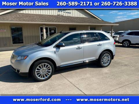 2013 Lincoln MKX for sale at Moser Motors Of Portland in Portland IN