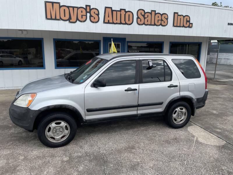 2002 Honda CR-V for sale at Moye's Auto Sales Inc. in Leesburg FL