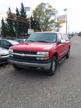 2001 Chevrolet Silverado 1500 for sale at Affordable 4 All Auto Sales in Elk River MN