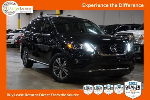 2020 Nissan Pathfinder for sale at Dallas Auto Finance in Dallas TX
