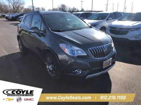 2016 Buick Encore for sale at COYLE GM - COYLE NISSAN in Clarksville IN
