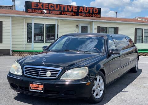 2002 Mercedes-Benz S-Class for sale at Executive Auto in Winchester VA