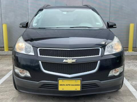2012 Chevrolet Traverse for sale at Delta Auto Alliance in Houston TX
