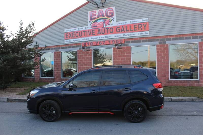 2020 Subaru Forester for sale at EXECUTIVE AUTO GALLERY INC in Walnutport PA
